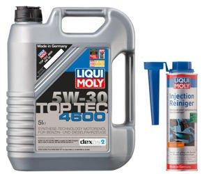 Olej Liqui Moly Top Tec 4600 5W30 5L + Injection Reiniger