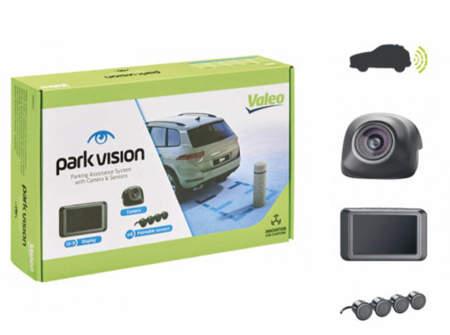 Czujniki parkowania Valeo Beep&Park/Vision - z kamerą i wyświetlaczem