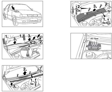 Filtr kabinowy Bosch Seat Cordoba II