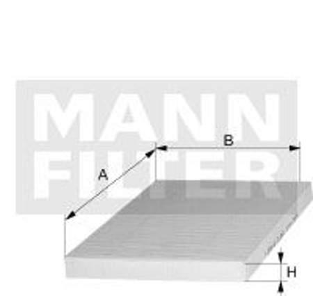 Filtr kabinowy MANN Seat Ibiza II