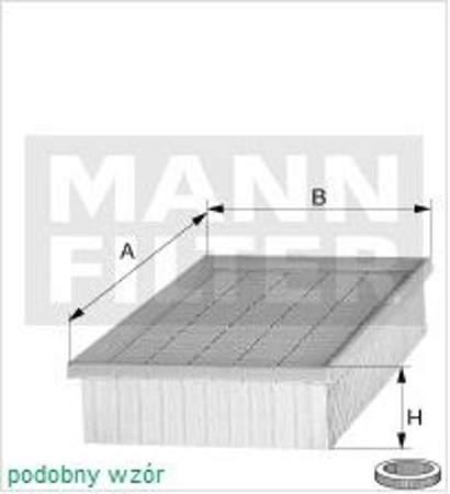 Filtr powietrza MANN BMW 3 E36