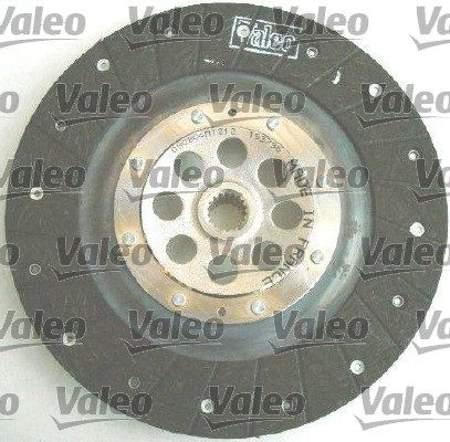 Zestaw sprzęgła Valeo Peugeot 206 1.6 HDi